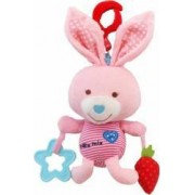 Jucarie muzicala Baby Mix din plus Pink Rabbit