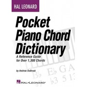 Hal Leonard Pocket Piano Chord Dictionary: A Reference Guide for Over 1,300 Chords, Paperback