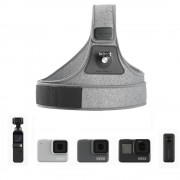 Prindere de piept Pgytech pentru Osmo Action, Osmo Pocket, GoPro, Insta360 One X