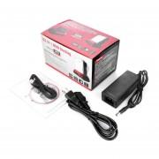 """Docking Station HDD USB 2.0 Lector De Tarjetas De 2,5"""" Y 3,5"""" SATA IDE Dual HDDAC352 Negro Y Rojo"""