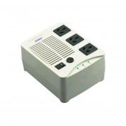 Estabilizador De Tension Atomlux H500 3 Salidas 500va