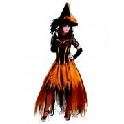 Vegaoo Häxdräkt med tyll - Halloweenkostym för vuxna