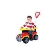 Mini Jip Bombeiro Infantil Maral 2063 Vermelho/amarelo