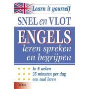 Deltas Snel en Vlot Engels leren spreken en begrijpen (Boek)