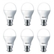 Philips Ace Saver 9W LED Bulb 6500K (Cool Day Light) - Pack of 6