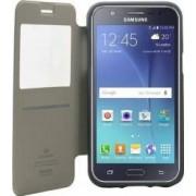 Husa Flip Goospery My-Wow Samsung Galaxy J5 J500 2015 Alb