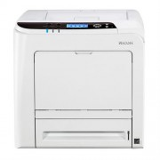 Printer, Ricoh SPC340DN, Laser, Color, Duplex, Lan