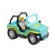 SCOOBY DOO Monster Safari Jeep& figurina Fred