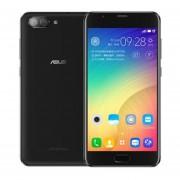 """ASUS Zenfone 4 Max Plus 3 + 32GB ZC550TL Dual Sim Android 7.0 Octa Core Cámara HD De 5.5 """"HD 8.0 + 13.0MP - Negro"""