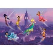 Fototapet Disney Clopotica si Zane in Londra - 255 x 180 cm