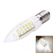 E14 4W 300LM 44 LED SMD 2835 Candle Corn Light Bulb AC 220-240V(White Light)