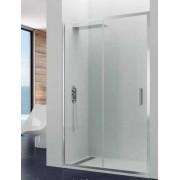 Mampara de ducha Prestige Titan 01 fija y 01 puerta corredera