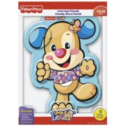 Fisher-Price Puppy Body Parts Learning Friends Chunky Wood Puzzle (Laugh and Learn), 6-Piece