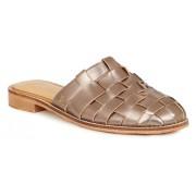 Emu Australia bronzové kožené pantofle Adelaide Pewter - 37