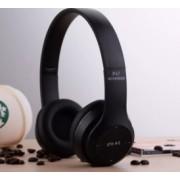 Casti P47 Wireless Bluetooth Stereo cu microfon radio si card SD