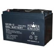 Power Kingdom Battery Gel Deep Cycle 12v 100ah