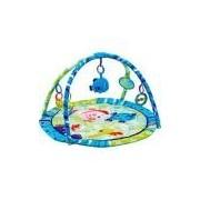 Tapete Infantil Bichos do Mar Azul - Mastela