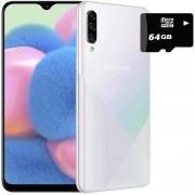 Celular Samsung Galaxy A30s 64GB 4Gb Dual Sim + Micro SD 64GB Blanco
