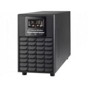 UPS Power Walker On-Line 1/1PHASE 1500VA, CG, PF1USB/RS-232, 4x IEC,EPO, LCD