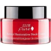 Crema reparatoare cu retinol pentru gat si decolteu 100 Percent Pure Cosmetics 165 g 44 ml