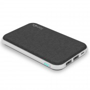 Fonex Caricabatteria Tetris wireless portatile con 2 porte USB