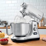 Gastroback Design Küchenmaschine Advanced Digital 40977, 12 Stufen und Pulse-Funktion, silber