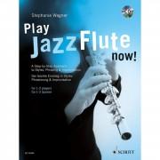 Schott Music Play Jazz Flute - now! Stephanie Wagner