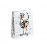 Ajándékzacskó Nagy - Bug Art - Ozzie Ostrich