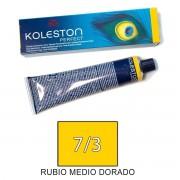Wella KOLESTON PERFECT Tinte 7/3 tamaño 60ml