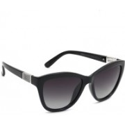 INVU Cat-eye Sunglasses(Black)