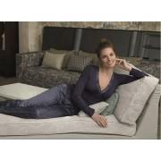 SELMARK Femei pijamale albastru P03730-P16 XL