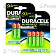 Duracell PreCharged AA 8 Pack-2x HR06-P