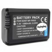 7.4V 1080mAh NP-FW50 Bateria para Sony NEX-5 NEX-6 NEX-7 - Negro