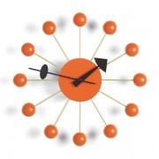 Vitra Ball Clock klok oranje