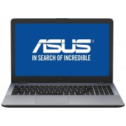 Laptop Asus X5442UR-DM006, i7 7500U, 2.7 GHz, 15.6 inch, 8GB DDR4, HDD 1 TB, Nvidia GeForce 930MX 2 GB, argintiu