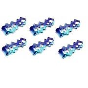 Lego Minifigure Lightning Force Bolt Weapon (6 Pcs)