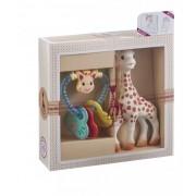 Coffret Cadeau Naissance avec Hochet Cœur Création Classique Sophie la girafe