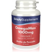 Simply Supplements OmegaMax 1000 mg - 60 cápsulas