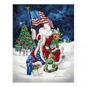 Master Pieces American Santa 1000 Piece Jigsaw Puzzle