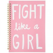Anteckningsblock FIGHT LIKE A GIRL