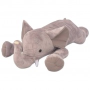 vidaXL Elefant de pluș jucărie XXL, 120 cm