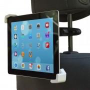 Shop4 - Universele Tablet Houder Auto Hoofdsteun Diagonale Klem voor 7-11 inch tablets