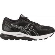 asics Gel-Nimbus 21 Shoes Dam black/dark grey US 7 EU 38 2019 Löparskor för asfalt