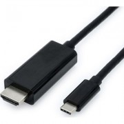 Cable USB Type C - HDMI, M/M, 2m, S3731