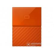 "Hard disk extern WD My Passport 2,5"" 2TB USB3 , portocaliu (WDBYFT0020BOR-WESN)"