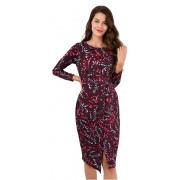 Closet London Rochie pentru femei rochie îmbrăcată în față rochie îmbrăcată maro XL