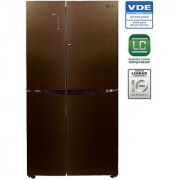 LG 679 L GC-M247UGLN Side In Side SidsE Side Refrigerator - LINEN BROWN