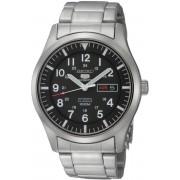 Seiko SNZG13K1 - Horloge - 42 mm - Zilverkleurig - Automatisch uurwerk
