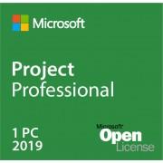 Microsoft Project 2019 Professionnel Open License compatible TS