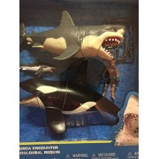 Animal Ocean Prehistoric Discovery Great White Shark & Killer Whale Playset - Animal Planet